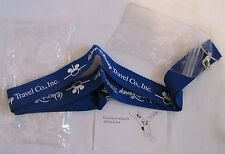 Walt Disney Co. Travel Company Pin Lanyard w/ ID Pass Holder