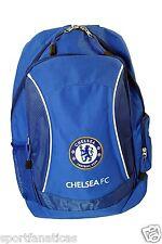 CHELSEA FC soccer  bag bookbag backpack mochilla  back pag  official licensed