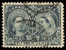 Canada 58, Used 15¢ VF and Fresh Unitrade $250.00 - Stuart Katz