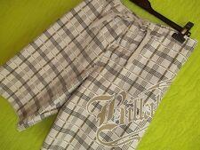 BILLABONG Sports: Badehose Boy Shorts cool beige Gr. M – TOP Karo