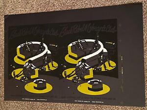 Black Rebel Motorcycle Guy Burwell Ultimate Rare Original Concert Poster