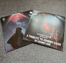 Johnny Doe A Tribute To Johnny Cash ~ Job Lot Vinyl (Marble Arch / Golden Hour)