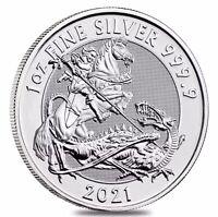 2021 Great Britain 1 oz Silver Valiant Coin .9999 Fine BU Fast Shipping In Stock