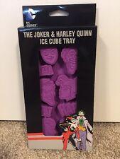 (NEW) D.C. Comics - The Joker & Harley Quinn Ice Cube Tray