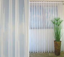 Gardinen Vorhang weiß mit Kräuselband Größe 115 Cm X 300 Cm