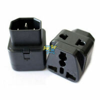 H-Quality IEC 320 C14 Male to C13 Female 10A Power Adapter PDU UPS APC Adaptor