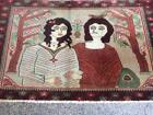 COLLECTORS' ITEM Antique Laila Majnun Wall Hang,Wedding gift,Christmas Gift Rug