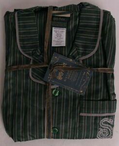 Pottery Barn Teen Harry Potter Slytherin House pajama set, medium M