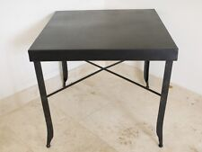 industrial vintage retro chair steel  dining table stylish black distressed