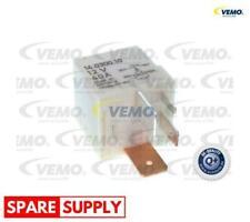 RELAY, RADIATOR FAN CASTOR FOR AUDI SEAT SKODA VEMO V15-71-0004