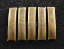 níquel plateado #BV1//K7 Libro De Unión Chicago Tornillo Rosca Trasera postes de 6,5 mm