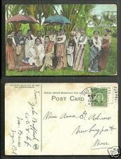 Sultana of Magindanao Mindanao Philippines stamp 1913