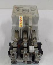 CUTLER HAMMER SIZE 3 3 PH MOTOR CONTROL A200M3CAC W/ OVERLOAD RELAY BA33P