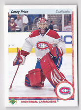 10-11 Upper Deck Carey Price 20th Aniversary Parallel Canadiens 2010