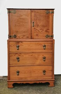 Pine Tallboy Chest Of Drawers