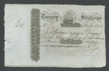 More details for scotland stornoway £1  1823 uncirculated  world paper money