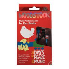 WOODSTOCK Earbuds Rock Buds Headphones