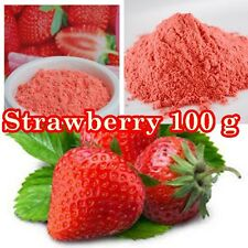 100 G  3.5 OZ  Freeze Dried Fruit Powders Strawberry PURE PREMIUM GRADE NON GMO