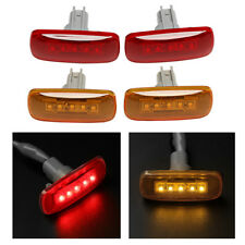 4X For 10-17 Dodge Ram Pickup Dually Cab Bed Fender 5 LED Side Marker Lights RY