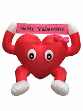 Valentine's Air Blown LED Inflatable Yard Decoration Be My Valentine Sweet Heart