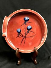 """Vintage Studio Pottery Dish Signed """"Squires"""""""