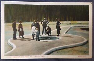 Yellowstone National Park YNP Men Women Children Handkerchief Pool Postcard