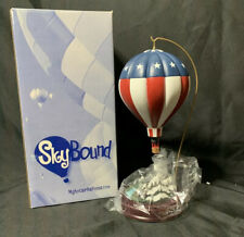 Harbour Lights SkyBound Hot Air Balloon Stars Stripes Longaberger Office 2003
