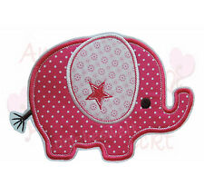 XXL Elefant Applikation Aufbügler Aufnäher Patch Bügelbild Sticker zum aufbügeln