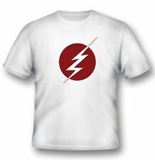 Dc Comics Flash Lightning Logo T-Shirt Unisex Size Taille XL 2BNERD