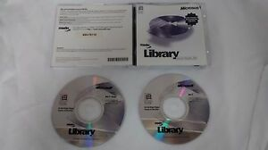 Microsoft MSDN Library Visual Studio 6 6.0 Two CD Set