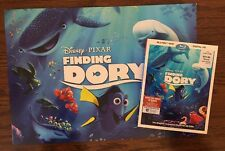US Disney Finding Dory Bluray/DVD/Digital + 4 Commemorative Lithographs NEW!