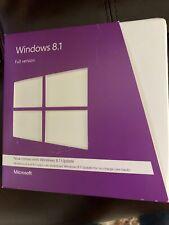 Microsoft Windows 8.1 Full Version Used