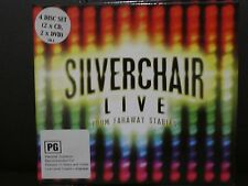 Silverchair Live From Faraway Stables (DVD & CD, 4-Disc Set) c3