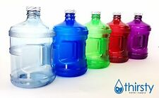 Water Bottle Half Gallon Drinking Gym Canteen Jug Container Colors 64 oz USA New