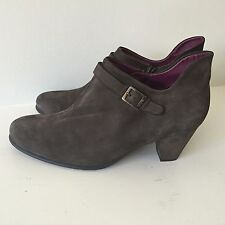 Arche Ankle Boot Women's Shoes Size EUR 36 US 5 Brown Nubuck - Pre Owned in Box