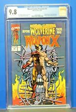 1991 Marvel Comics Presents #72 Origin Wolverine Weapon X CGC Graded 9.8 Hot Key