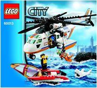 LEGO - CITY -  - 60013 - INSTRUCTIONS!