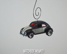 Classic Deluxe Volkswagen Beetle Custom Christmas Ornament VW Bug Two Tone