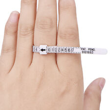US Ring Sizer Measure Finger Gauge For Wedding Ring Band Engagement Ring Ek