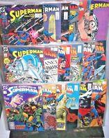 SUPERMAN Comic Book LOT (18) DC COPPER Adventures #440 - #451 SUPERMAN #19 - #30