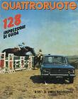 QUATTRORUOTE N° 161 - MAGGIO 1969 - AUTOBIANCHI A111 - FIAT 128 - DAF 55 BERLINA