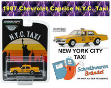 Greenlight Hobby Exclusive Serie 1987 Chevrolet Caprice New York City Taxi 30077