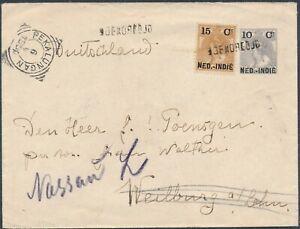 1904 Netherlands Indies Revalued PSE Boeroedjoel PEKALUNGANNASSAUI superb