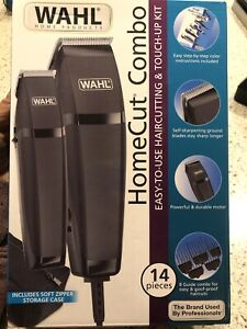 BRAND NEW WAHL Home Cut Combo Hair Clipper & Trimmer Set (14-Piece Kit)