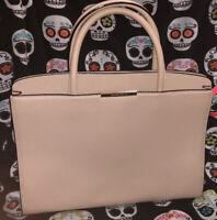 Kate Spade Philmont Lane Henlie Large Pebbled Leather Satchel Bag Gorgeous Cream
