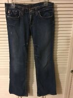 Big Star women's Jeans SIZE 28 R - Casey Low Rise Distressed