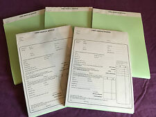 USED CAR VEHICLE SALES INVOICE PAD BUYING SELLING X 5 INVOICE PADS USED CAR SALE