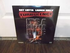 TURBULENCE  IT'S A KILLER RIDE ( RAY LIOTTA AND LAUREN HOLLY) LASER DISC