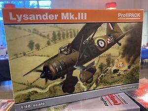 Eduard 1/48 Scale Lysander Mk. III - kit 8290 OOP -