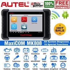 Autel MK808 OBD2 Scanner Car Full-System Diagnostic Scanner IMMO TPMS Key Coding